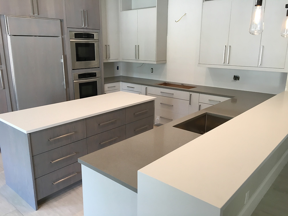 White quartz countertops installer in Boca Raton FL, Delray Beach contact Stone and Quartz LLC