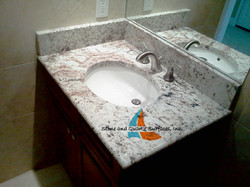 picture a single Vanity Countertops