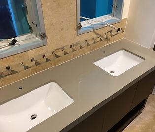 Custom Quartz vanity | Quartz Vanity Countertops
