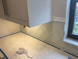 Kitchen back splash tile installation service | Boca Raton FL