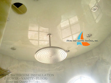 We fabricate high end cut to size onyx ceiling, wall panels, Fort Lauderdale, West Palm Beach, Juno Beach, Fl.