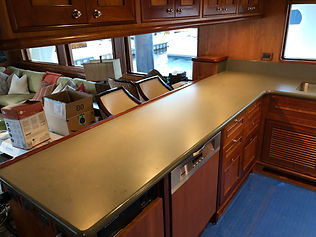 Yacht Quartz Countertops Fabricator