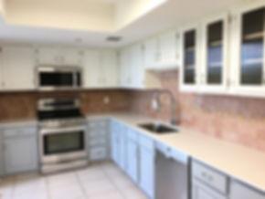 White Kitchen Counter Boca Raton FL