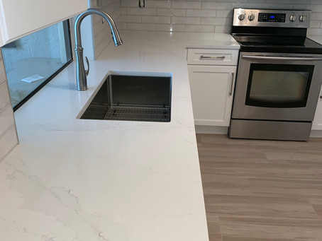 How to Create an inspiring kitchen installing Silestone Calacatta Gold Countertops