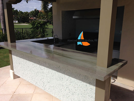 Outdoor Kitchen Countertops Jupiter, Florida