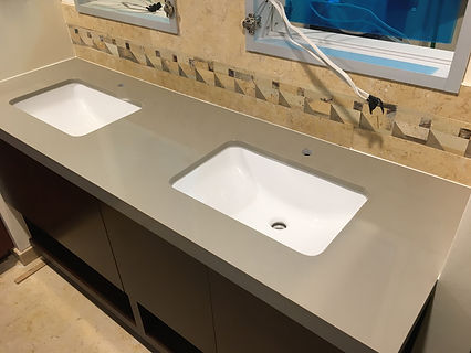 Quartz Vanity Countetops