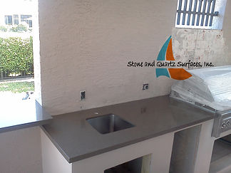 Custom outdoor kitchen Countertops | Boca Raton FL