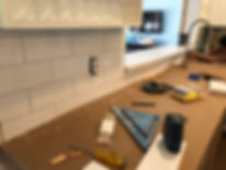 Backsplash installation Service