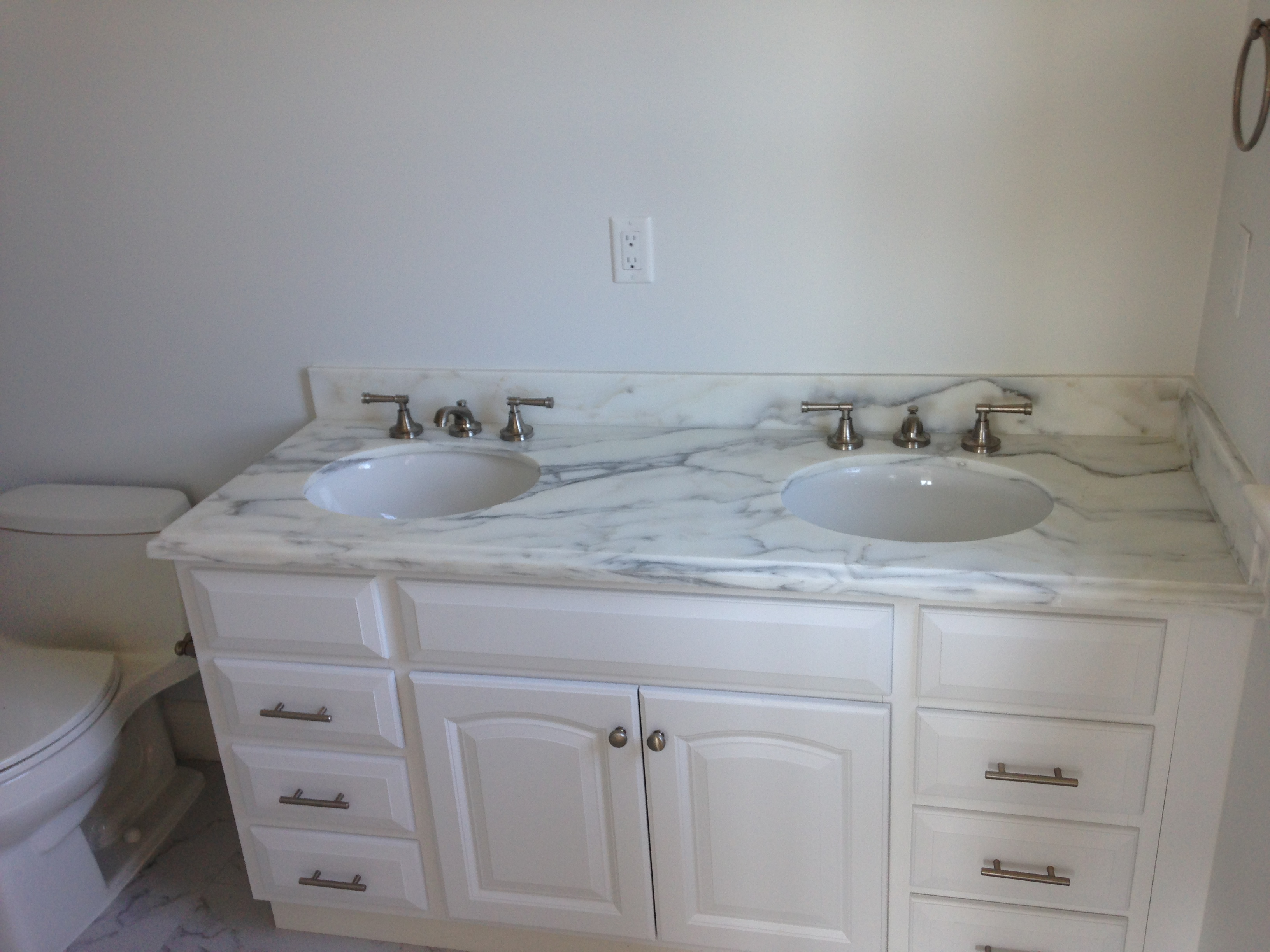 Marble vanity counter tops
