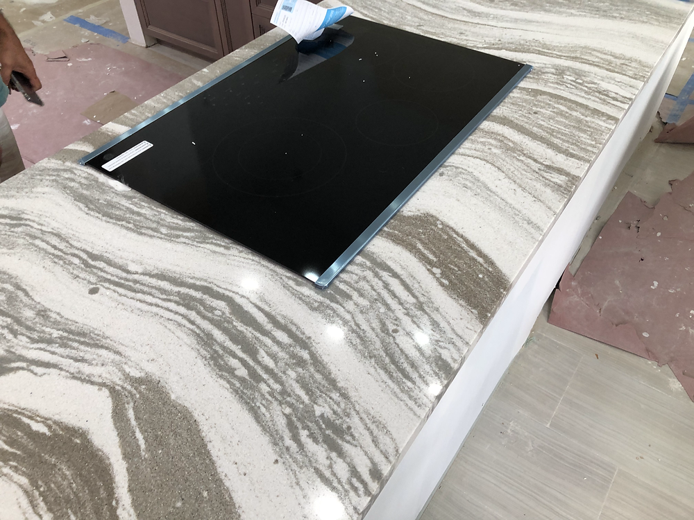 Cambria quartz countertops installer expert in Boca Raton FL. Contact Stone and Quartz LLC