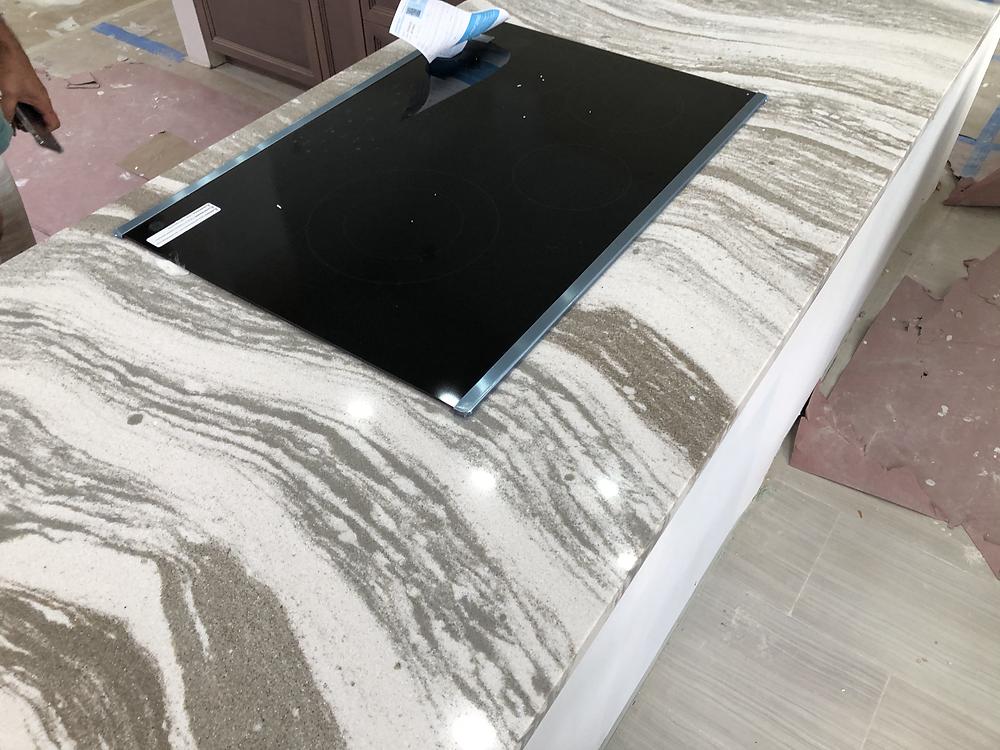 Cambria quartz countertops installer expert in Boca Raton FL. Contact Stone and Quartz LLC