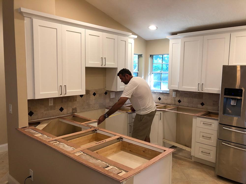 Cambria quartz Windermere countertops dealer and installer near me Boca Raton FL