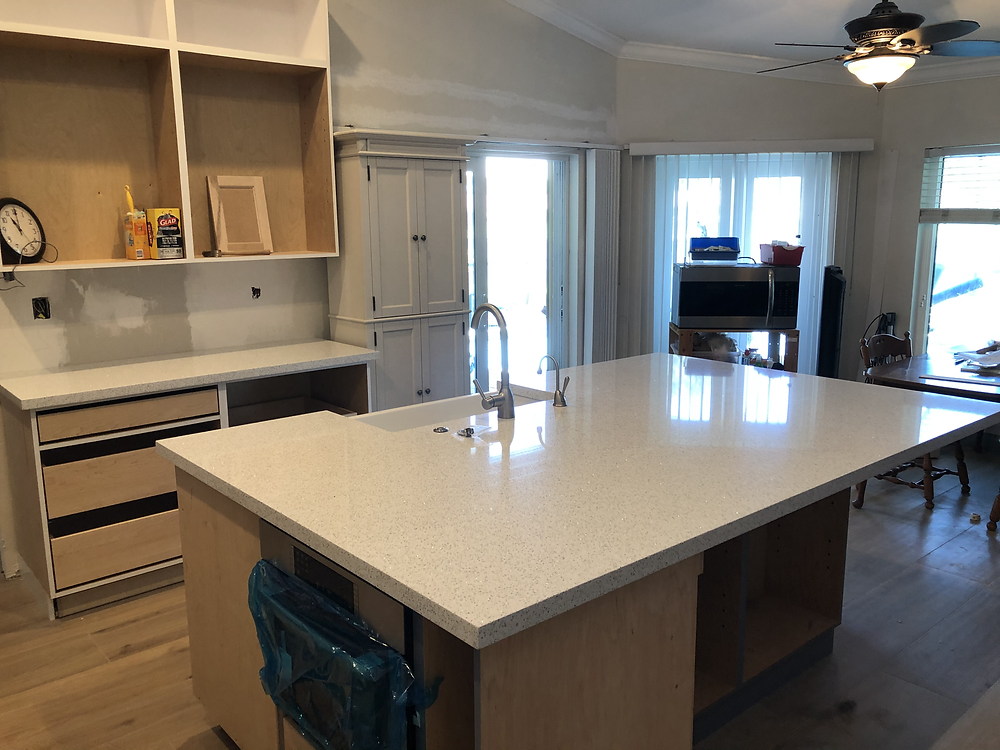Cambria quartz kitchen countertops experts Stone and Quartz LLC located in Boca Raton FL