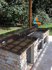 Outdoor Kitchen Countertops Boca Raton, FL.