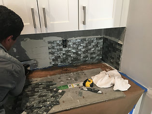 Backsplash for Quartz Countertops