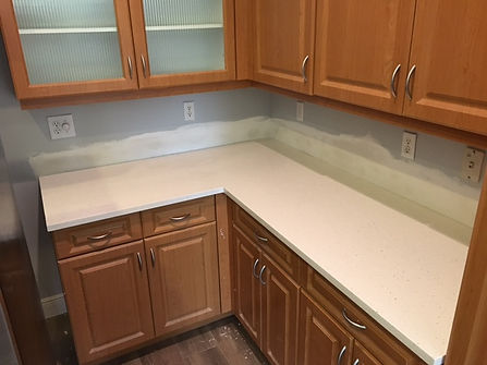 Star White Quartz Countertops