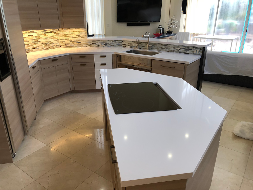 Silestone quartz countertops near me. Contact Stone and Quartz LLC located in Boca Raton FL for you quartz countertops installation.