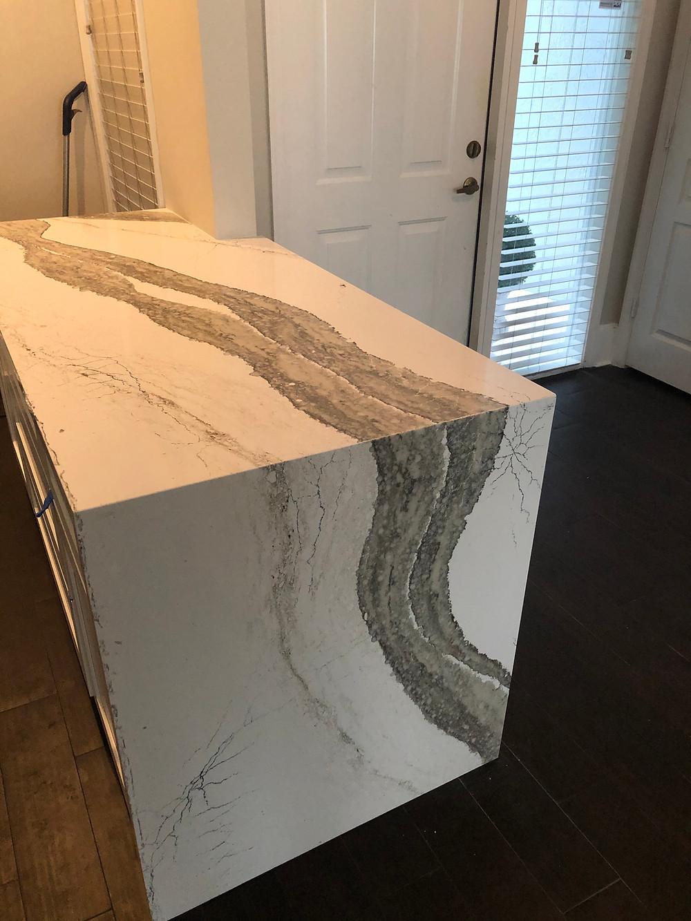 Contact Stone and Quartz LLC, for Cambria Skara Brave or any other Cambria quartz countertops.