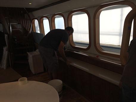 Yacht Countertops Installer South Florida