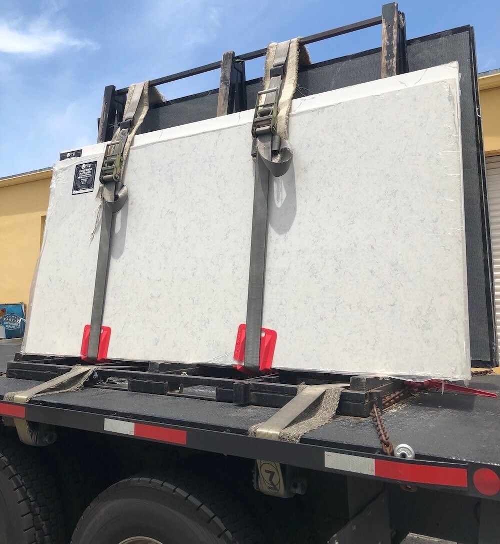 Mara Blanca MSI Quartz Countertop | Stone and Quartz LLC