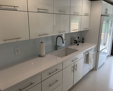 White Quartz Countertops Boca Raton