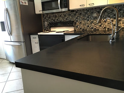 Black granite countertops Parkland Fl