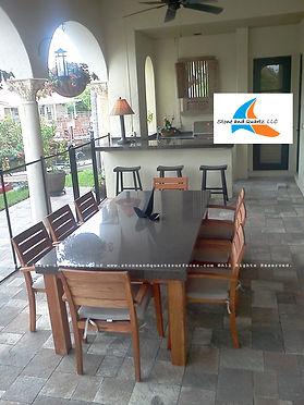 Granite Kitchen Countertops _ Outdoor ki