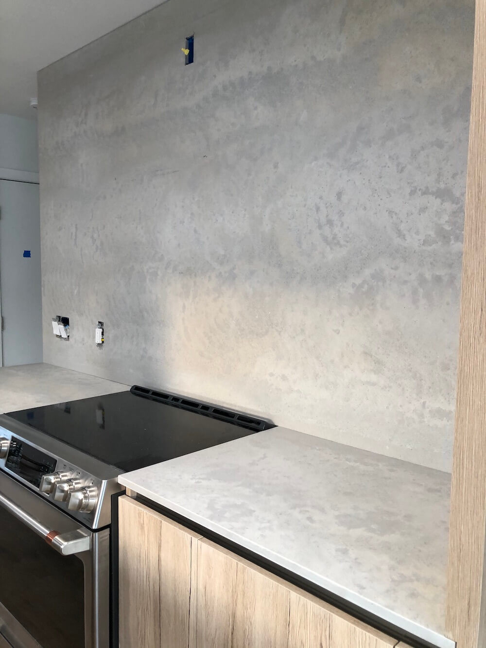 Caesarstone Primordia Kitchen Backsplash Boca Raton FL