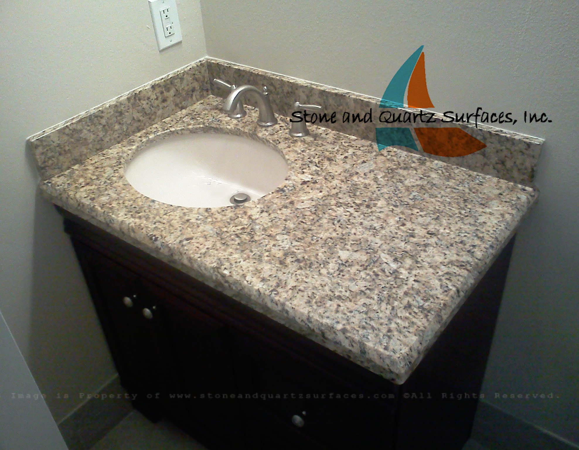picture granite vanity countertop