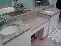 picture double vanity countertop