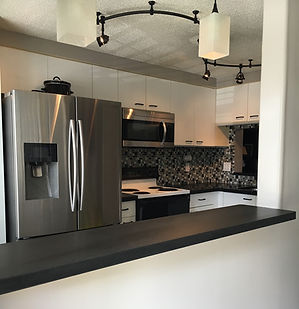 black granite countertops Boca Raton Florida