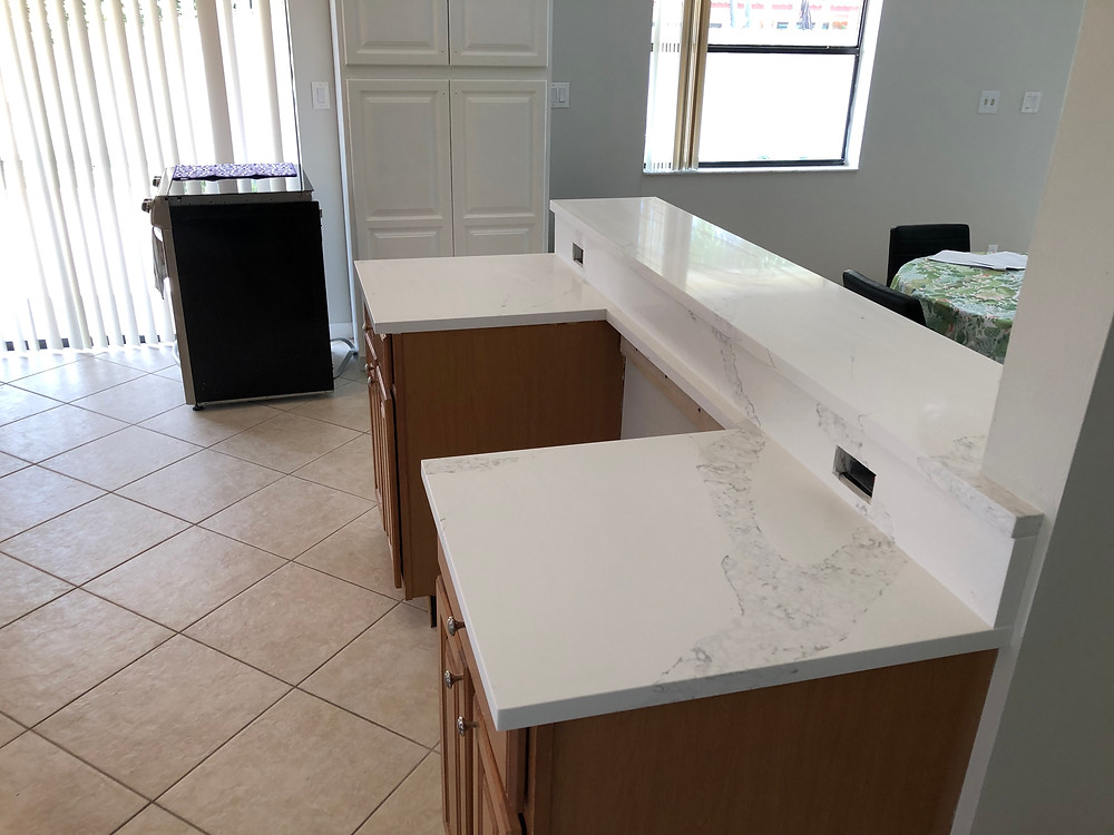 Contact us Stone and Quartz LLC for your kitchen countertops fabrication and installation.