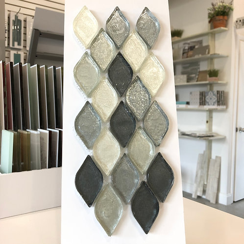 Grey Scale Glass Tiles | Mosaic Glass | Moroccan Style