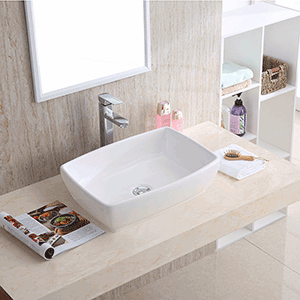 Vessel vanity sink- Tub | Stone and Quartz LLC | Boca Raton FL installed