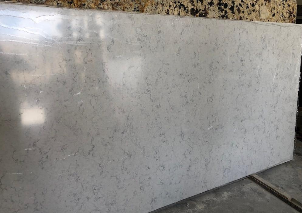 Mara Blanca MSI Quartz Vanity Countertops Boca Raton FL