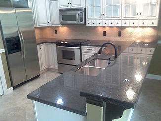 brown granite countertops boca Raton Florida