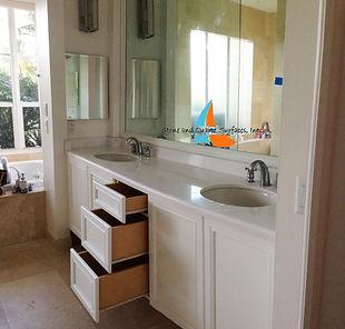Custom Vanities In Boca Raton FL Countertops - Bathroom vanities palm beach county