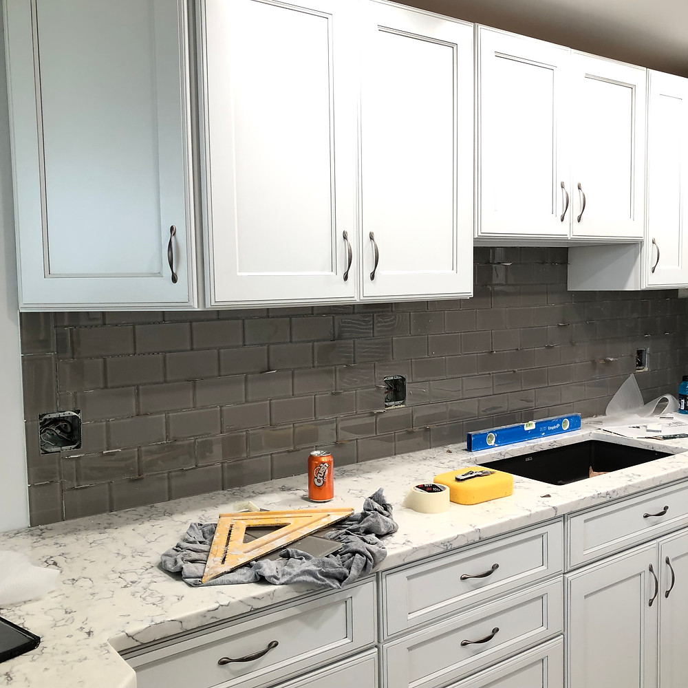kitchen remodeling backsplash and countertops installation in bOca Raton FL feel free to contact Stone and Quartz LLC