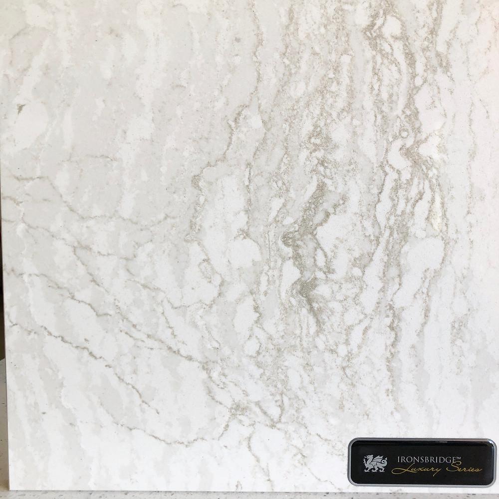 Cambria Ironsbrigde quartz countertops near me, fell free to contact Stone and Quartz. LC for your Cambria quartz countertops fabrication