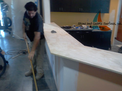 Stone Fabricator Commercial Projects