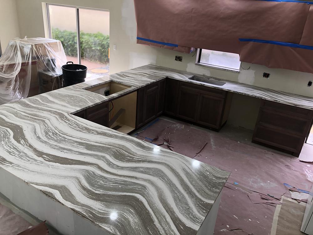 For Oakmoor Cambria quartz Countertops find the experts Stone and Quartz LLC located in Boca Raton FL