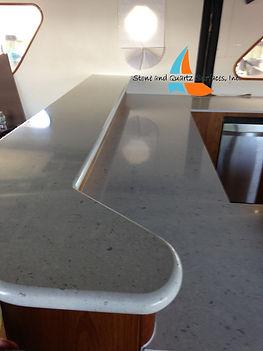 Yacht Quartz Countertops Installer