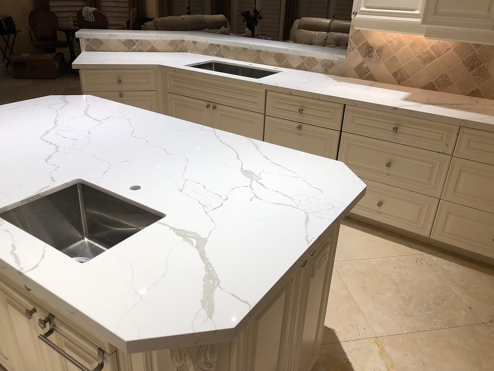 Feel free to contact us Stone and Quartz LLC for your kitchen countertops iin Boca Raton FL or near areas.