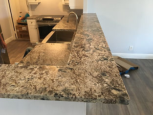 Granite countertop fabrication near me
