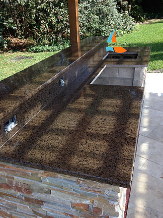 Outdoor kitchen Countertops Boca Raton | Fabricators