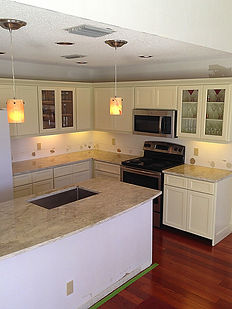 island granite countertops PGA