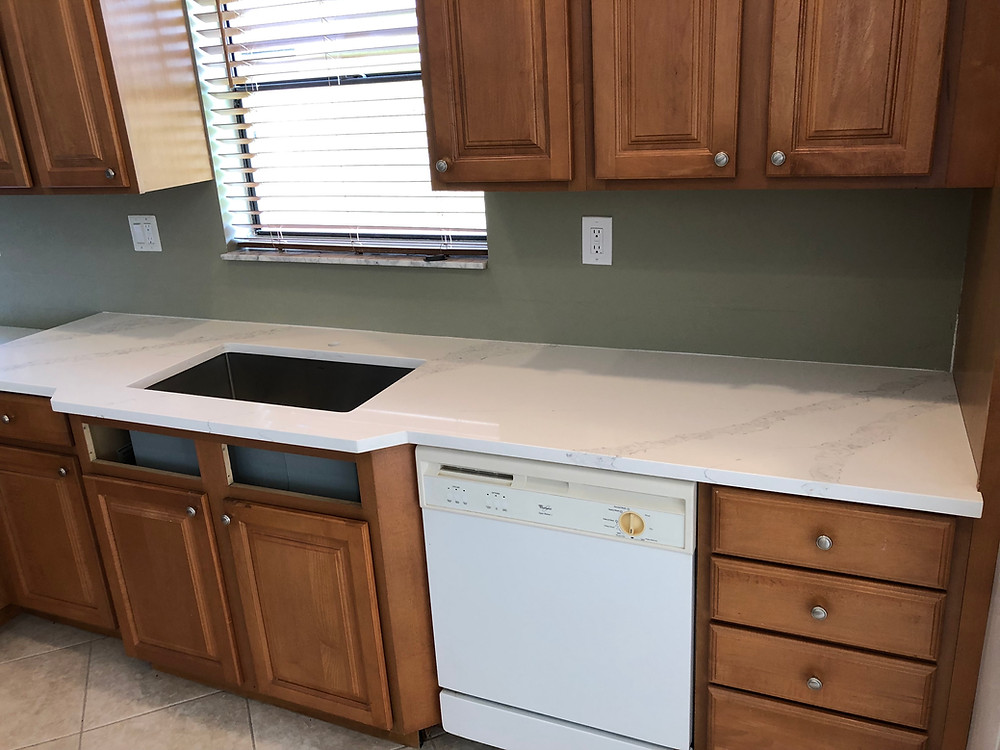 Stone and Quartz LLC quartz countertops installer in Boca Raton FL