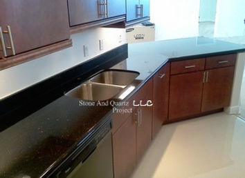 dark granite countertops Highland Beach Florida