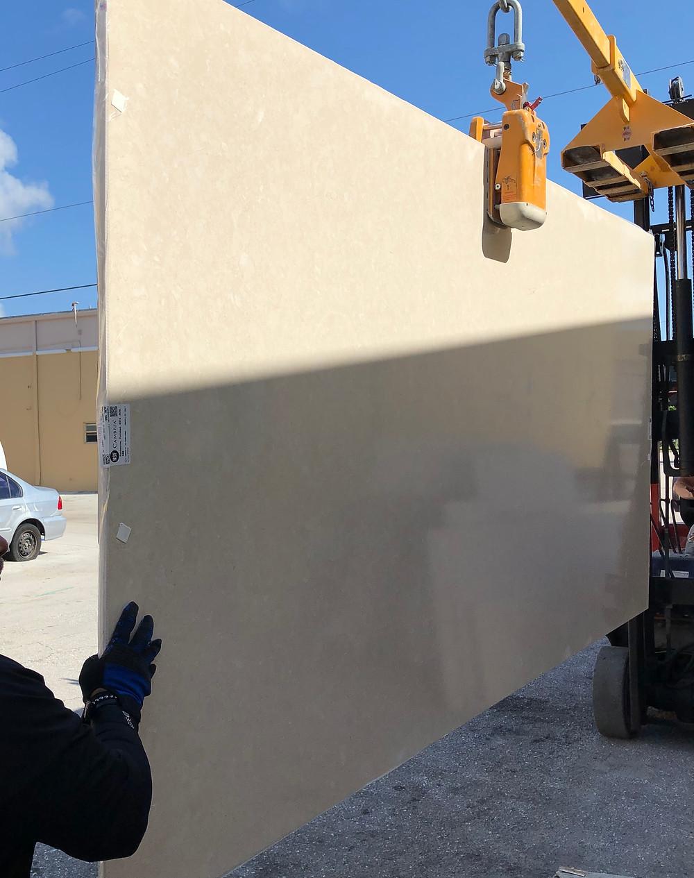 countertops installation in Boca Raton FL. Cambria countertops Boca Raton FL