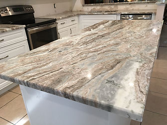 Quartzite Kitchen Countertops Fabricator